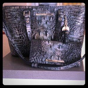Brahmin purse and wallet set